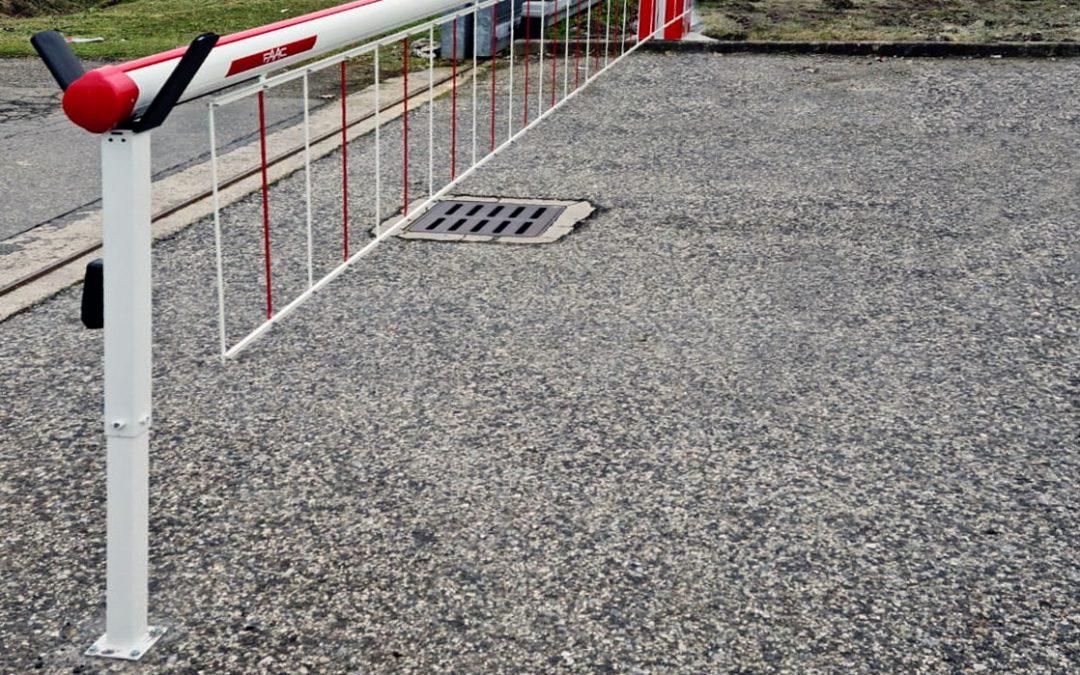 Abbiamo installato la nuova barriera automatica FAAC B680H